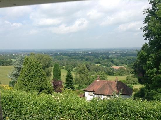 Amazing View in the Malverns: view from our room