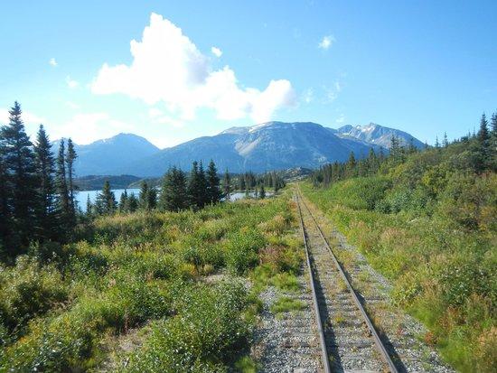 White Pass & Yukon Route Railway: Spectacular scenery