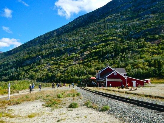 White Pass & Yukon Route Railway: Lake Bennett station