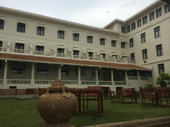 Galle Face Hotel Colombo: отель