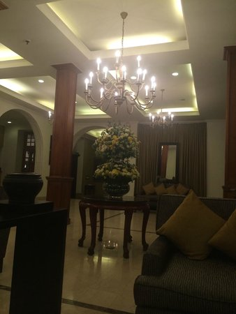 Galle Face Hotel Colombo : холл