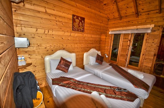 Interieur room picture of log home boutique hotel for Hotel interieur