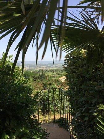 Les Terrasses du Luberon: vue de la terrasse