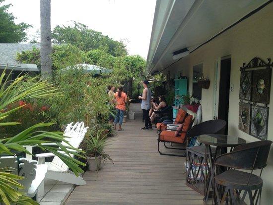 Mango Street Inn : One side of the Inn, great gathering place.