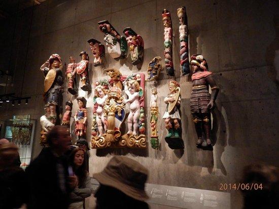 Vasa Museum: Figures from the Vasa