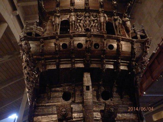 Vasa Museum: Stern of the Vasa
