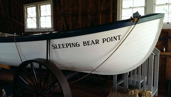 Sleeping Bear Point Maritime Museum : Life Boat