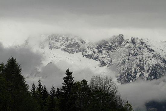 Dokumentation Obersalzberg: View of Eagle's Nest from Documentation Obersalzburg