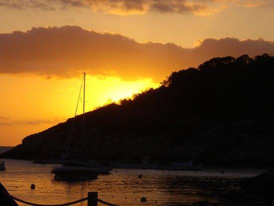 Cala de S'Arenal Gros: sunset