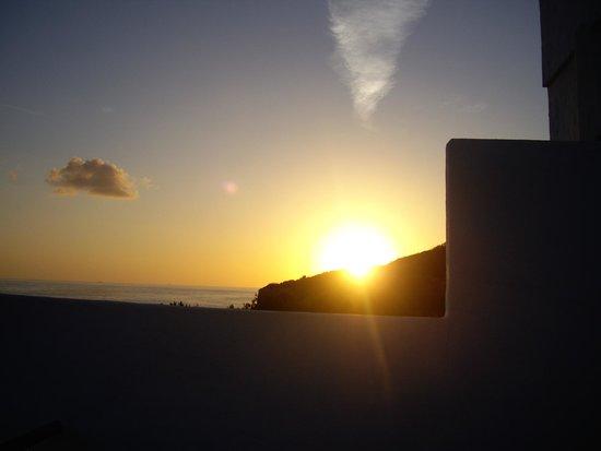 Cala de S'Arenal Gros: sunrise