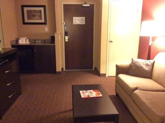 Holiday Inn Express & Suites Downtown Buffalo: Living room