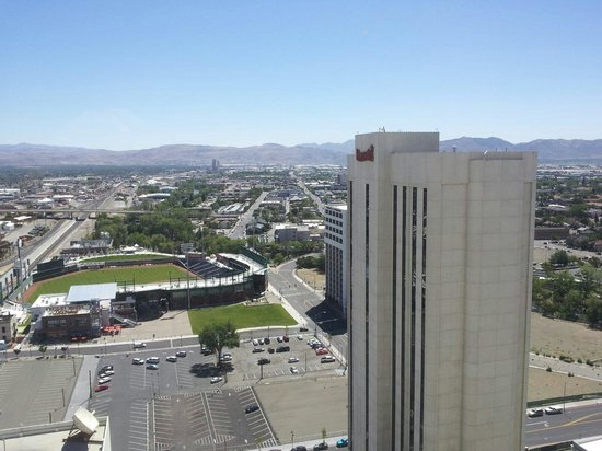 Harrah's Reno: View from our room 22nd flr.
