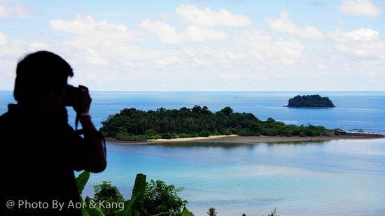 Mu Ko Chang National Park View Point: View Point Mu Koh Chang National Park (จุดชมวิว ไก่แบ้)