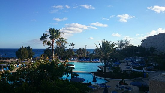 Hotel Grand Teguise Playa: View from my hotel room.