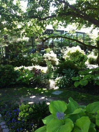 Dan'l Webster Inn & Spa: Garden Area