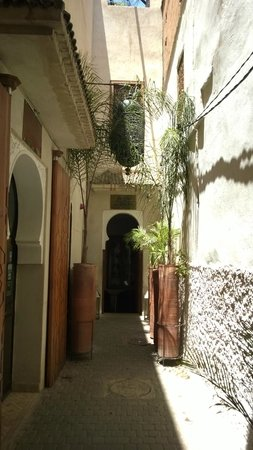 Entrance to Le Bain Bleu