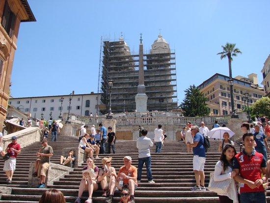 Spanische Treppe (Piazza di Spagna): Spanish Steps