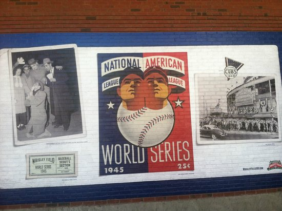 Wrigley Field: Wall Mural Outside The Field Part 77