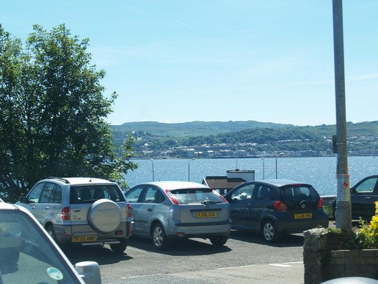 Cafe at Kilcreggan: From a table with a view