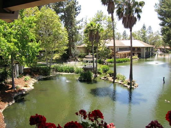Westlake Village Inn: view from the room