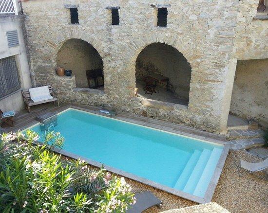 Chateau de Siran : La piscine chauffée