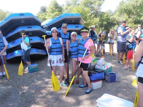 Sunshine Rafting Adventures: Readyto go