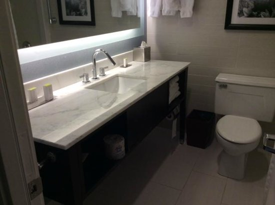 DoubleTree by Hilton Binghamton: Bathroom