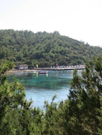 Bodrum Park Resort: vue mer