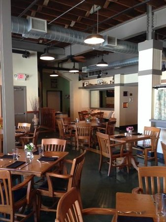 Trio Restaurant & Bar: Inside