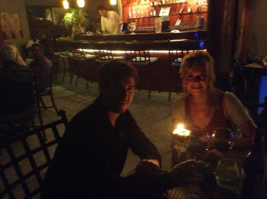 Voila Bistro : At Voila with my son...great times.