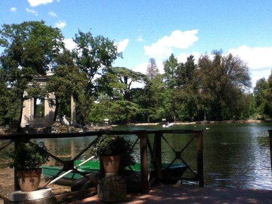 Villa Borghèse : Lago do Tempo di Esculapio