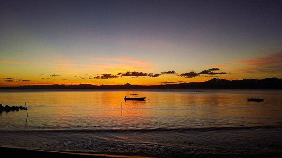Sunset from Daku Resort, Fiji