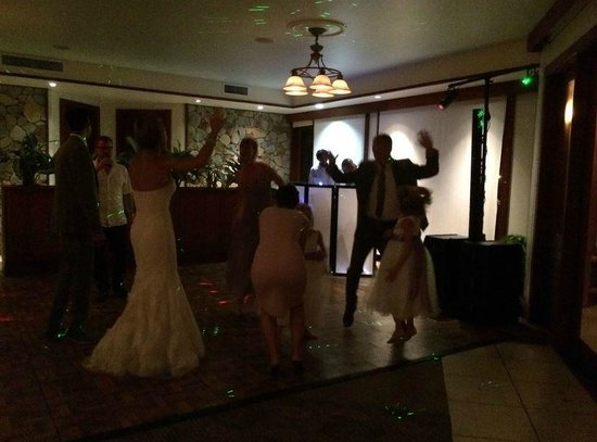 The Buccaneer St Croix: Dance floor for wedding