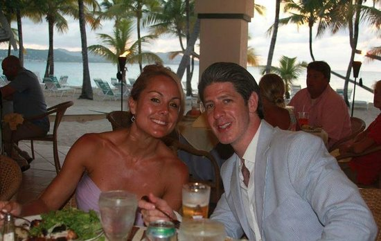 The Buccaneer St Croix: Rehearsal dinner