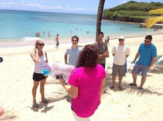 The Buccaneer St Croix: Rehearsal walk through