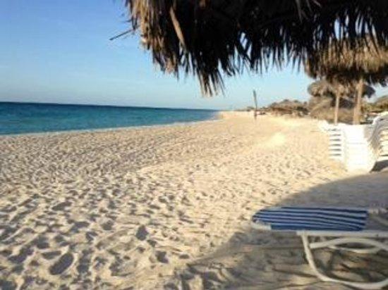 Ocean Varadero El Patriarca: Clean sandy beach.