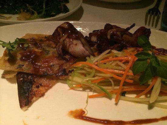 Waterbar : BBQ Squid Appetizer