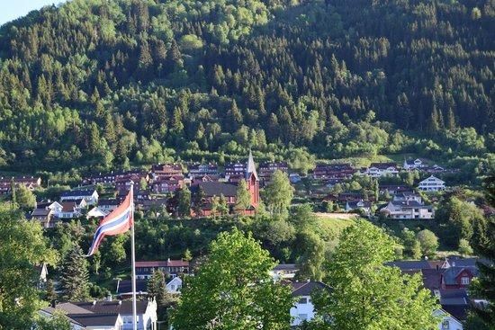 Quality Hotel Sogndal: вид с балкона
