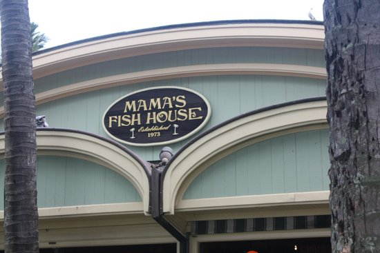 Mama's Fish House : Front of the restaurant.