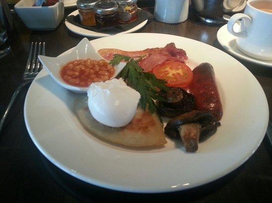 Lochside House Hotel: Lovely Scottish breakfast