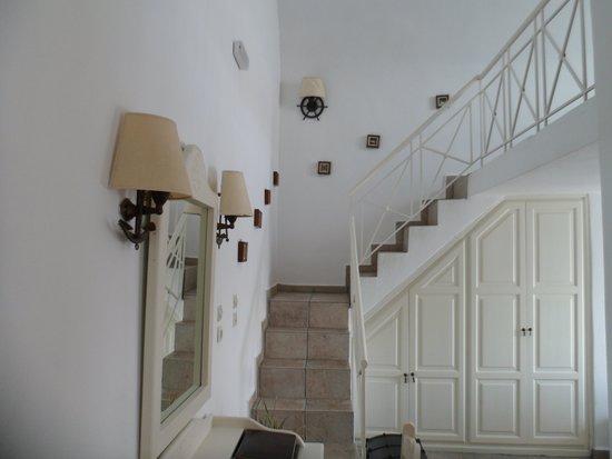 Agali Houses : Schlaffbereich treppauf ;)