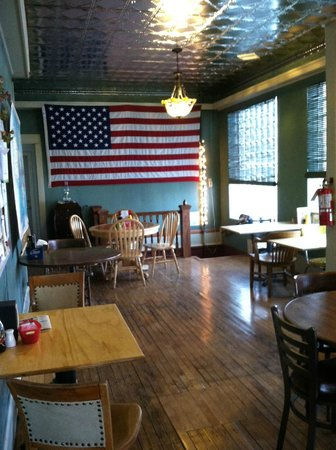 Historic Hotel Greybull: lunch area