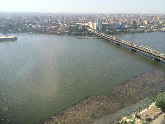 Fairmont Cairo, Nile City: view