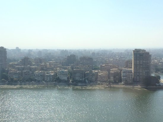 Fairmont Cairo, Nile City: view from suit