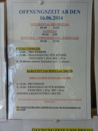 Parco Termale del Garda: Und Preise die zweite...