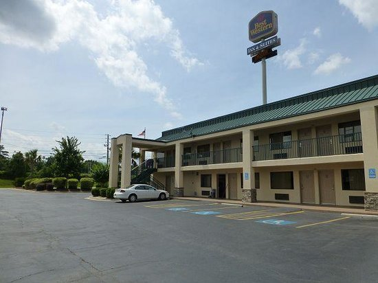 Best Western Inn & Suites of Macon : Aussenansicht