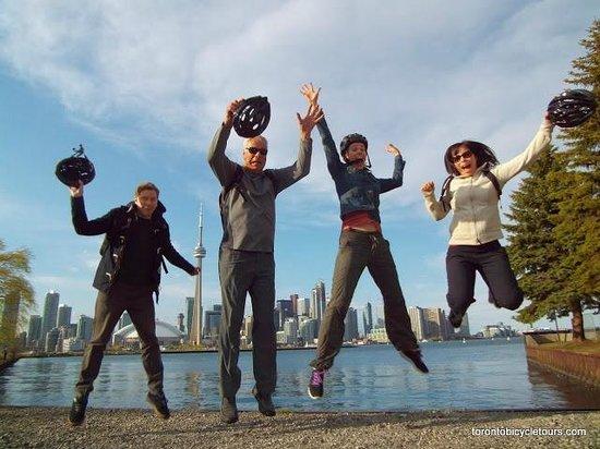 Toronto Bicycle Tours: Jump!