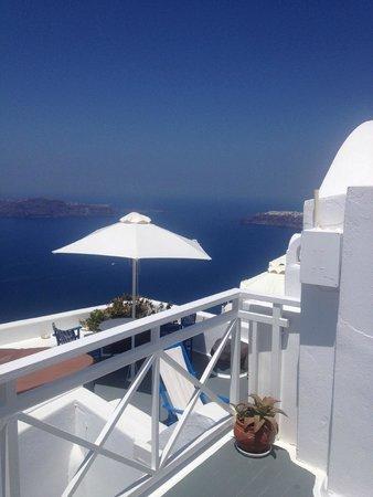 Artemis Villas: balcony view