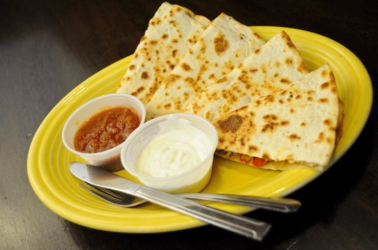 Eclipse Coffee & Books: Quesadilla