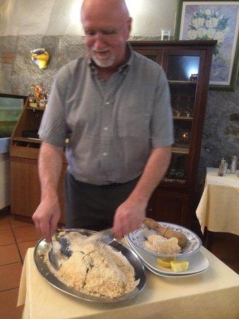 Carnival : Loup délicieux en croûte de sel !